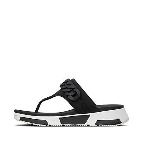 Fitflop Heda  Chain Toe-Post Black