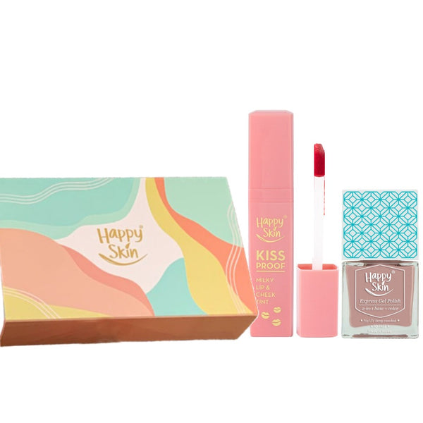 Happy Skin Kissproof + Gel Polish Gift Set