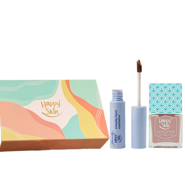 Happy Skin Pretty Eyeshadow + Gel Polish Gift Set