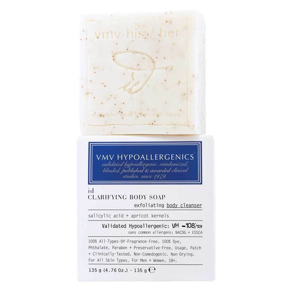VMV ID Clarifying Soap Exfoliating Body Cleanser 135g