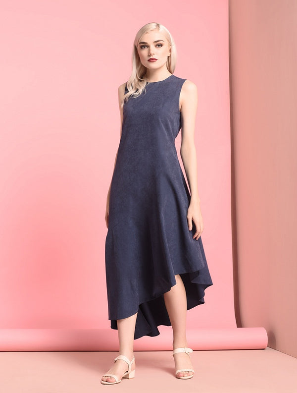 RAF Stunic Sleeveless Dress Navy