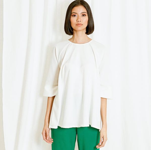 Canvas Jorge Top in White