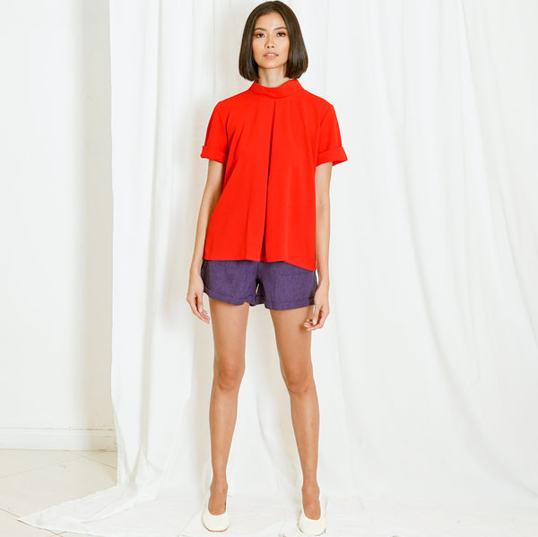 Canvas Bella Top in Red