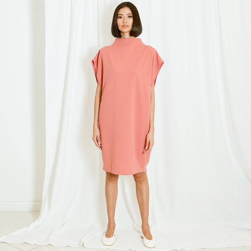 Canvas Nora Dress in Pink