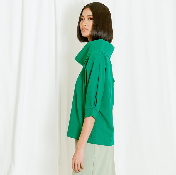 Canvas Luna Top Green