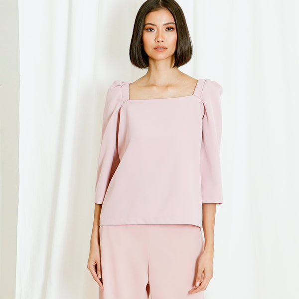 Canvas Tricia Top in Blush