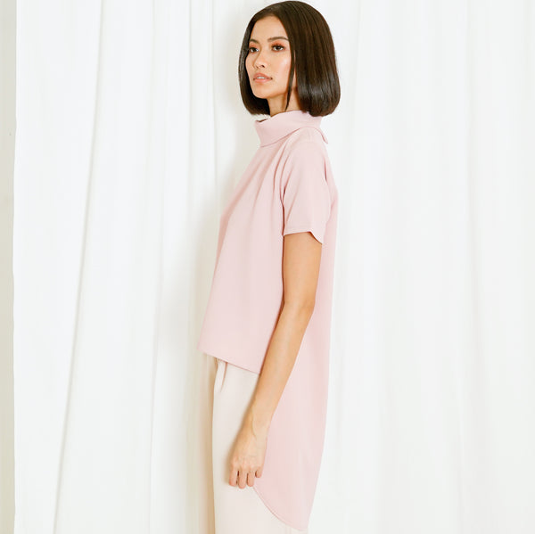 Canvas Mariana Top in Blush