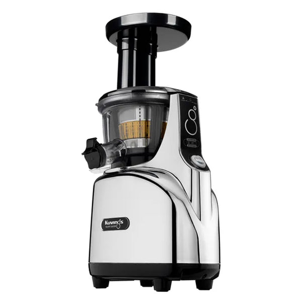 Kuvings Regular Slow Juicer | White & Chrome