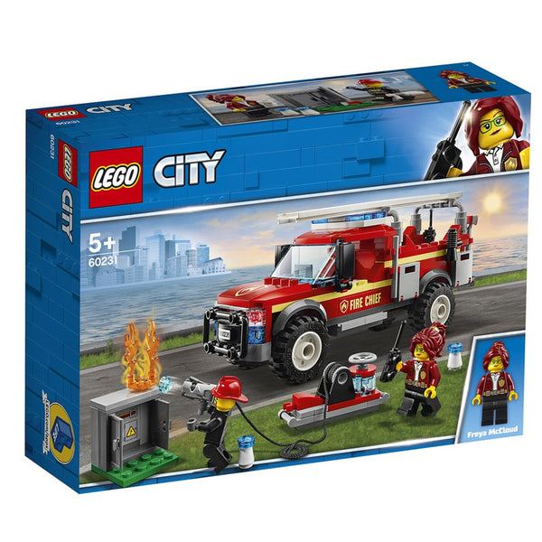 LEGO® City Fire Chief Response Truck 60231