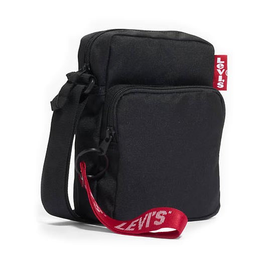 Levi's L Series Twill Tape Small Cross Body Bag in Black