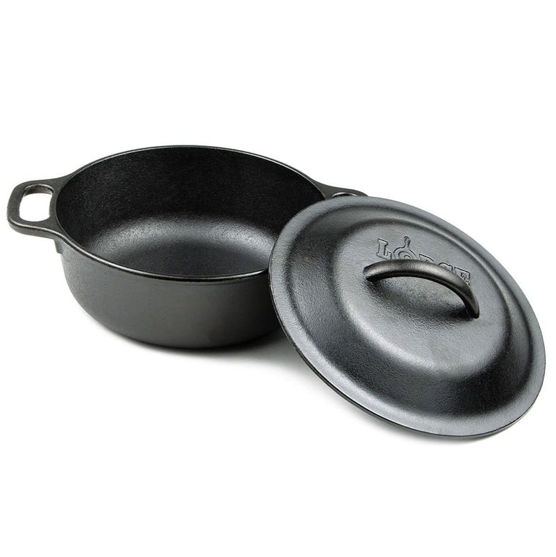 Lodge® Cast Iron 2 Quart Dutch Oven