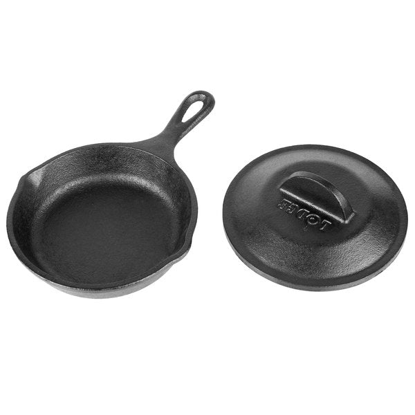 "Lodge® Cast Iron 5"" Mini Skillet with Lid"