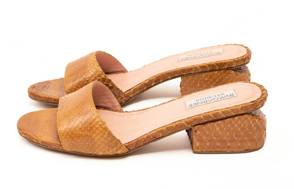 Mark Bumgarner Trish sandals in Tan