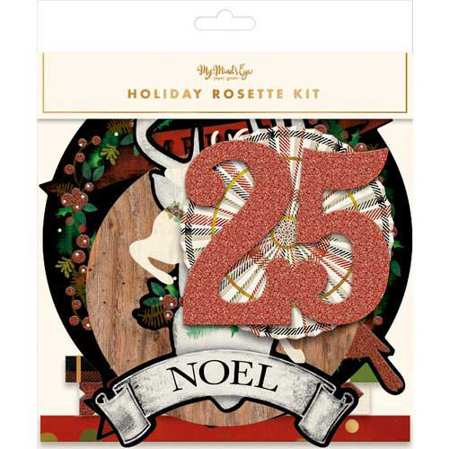 My Mind's Eye Holiday Rosette Kit