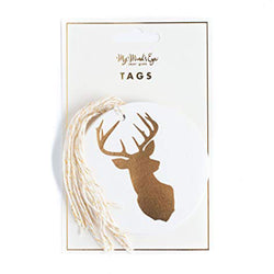 My Mind's Eye Holiday Gift Tag (Stags)