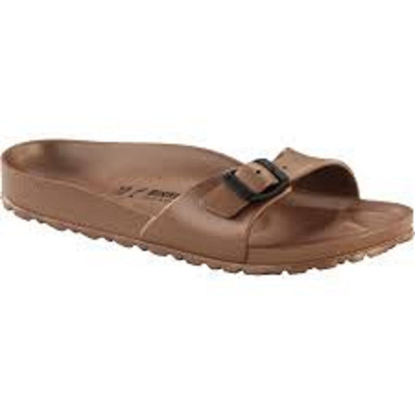 Birkenstock Madrid EVA in Metallic Copper