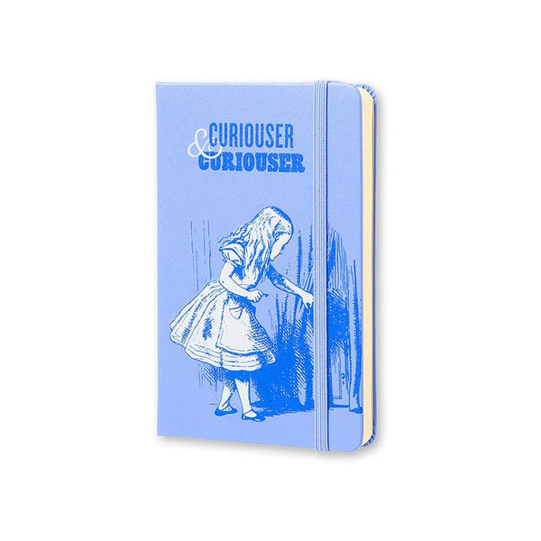 "Moleskine Limited Edition Alice in Wonderland Pocket (3.5"" X 5.5"") Hard Cover Notebook"