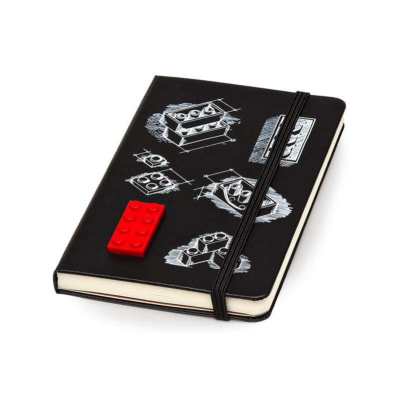 "Moleskine Limited Edition Lego Pocket (3.5"" x 5.5"") Hard Cover Notebook"