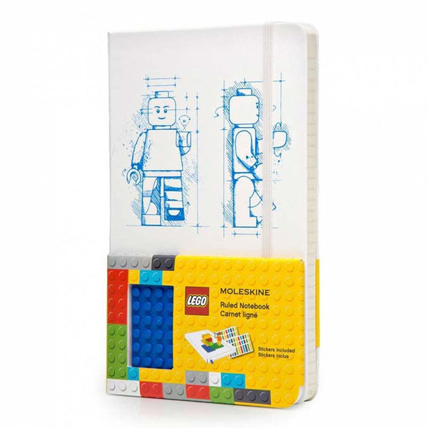"Moleskine Limited Edition Lego Large (5"" x 8.25"") Hard Cover Notebook"