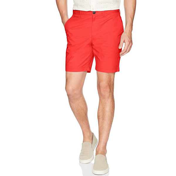 Original Penguin Men's P55 Basic Shorts in Flame Scarlet