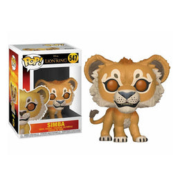 POP! Disney Lion King Live Vinyl Action Figures - Simba | Timon | Pumbaa