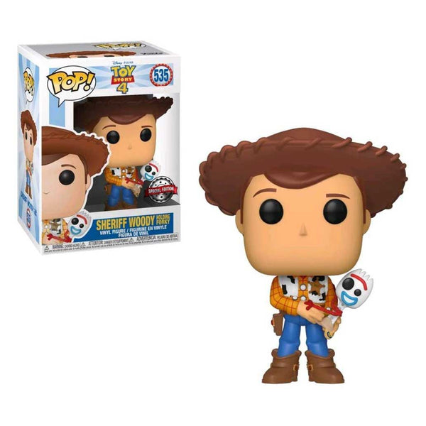 Pop! Toy Story 4 Vinyl Action Figures - Woody | Buzz | Jessie