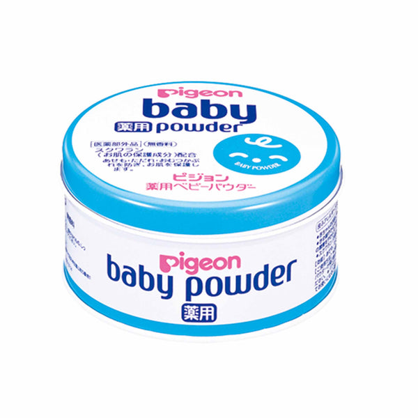 Pigeon Baby Powder Canned Blue (Medicated)