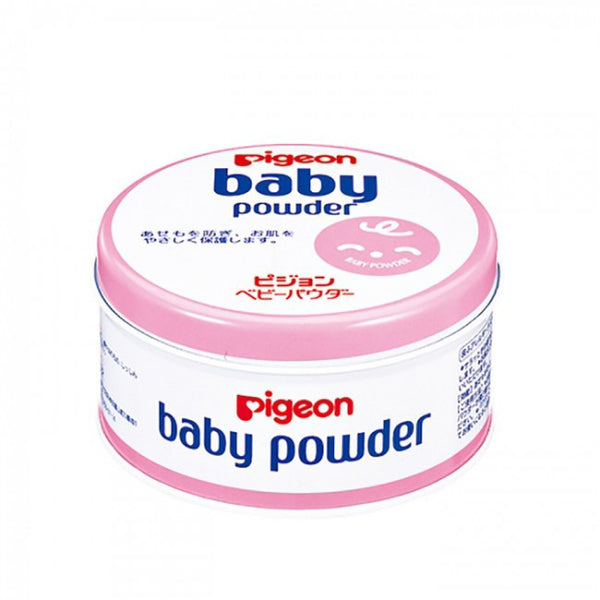 Pigeon Baby Powder Canned Pink