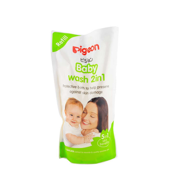 Pigeon Baby Wash 2 in 1 Refill 900mL