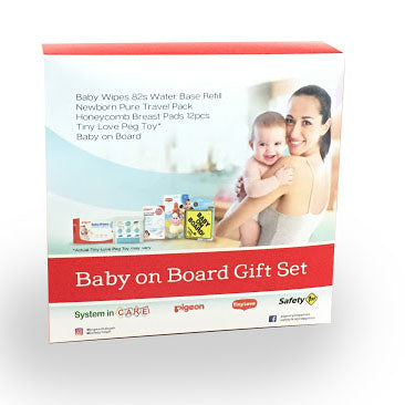 Pigeon Baby On Board Gift Set