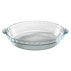 "Pyrex® Basics™ 9.5"" Glass Pie Plate"