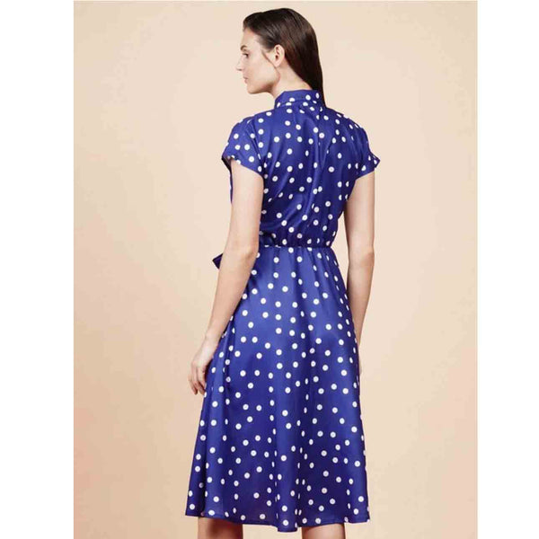 RAF Auckland Shortsleeves Dress in Blue