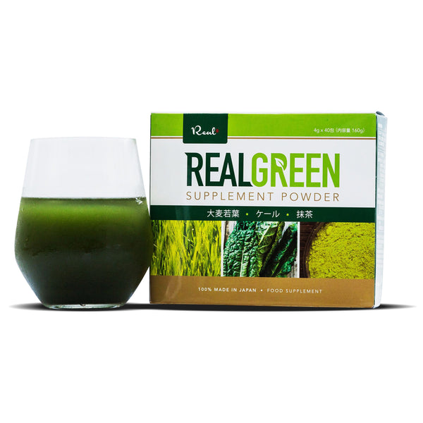 Real Green Slimming Weight Loss Dietary Supplement Powder Juice 4g x 40