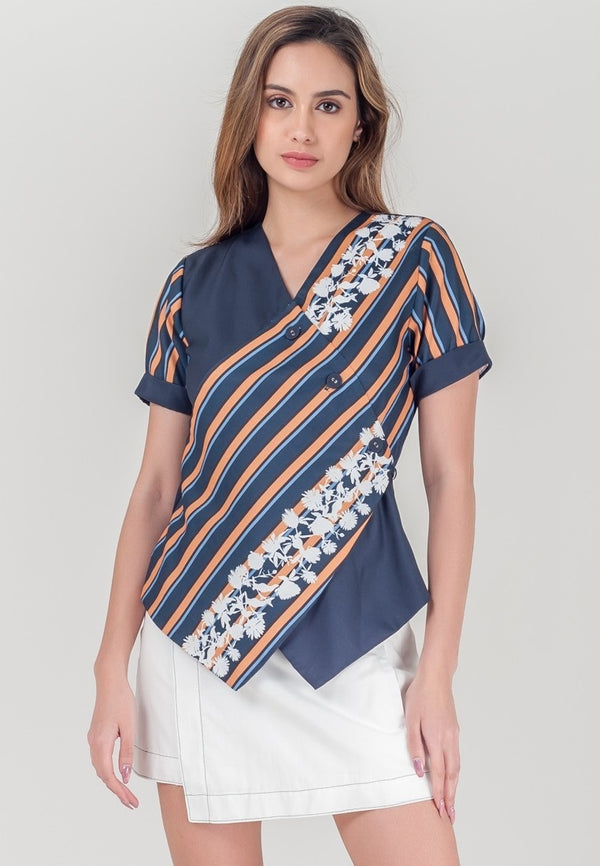 Plains and Prints Rylee Short sleeves top