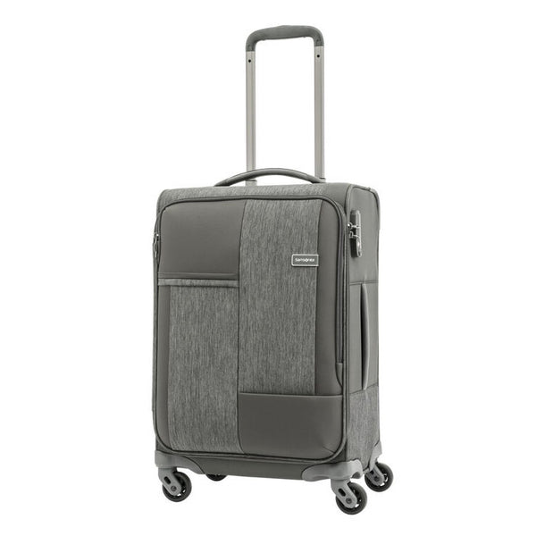 Samsonite Cubix Spinner 55cm in Heather Gray