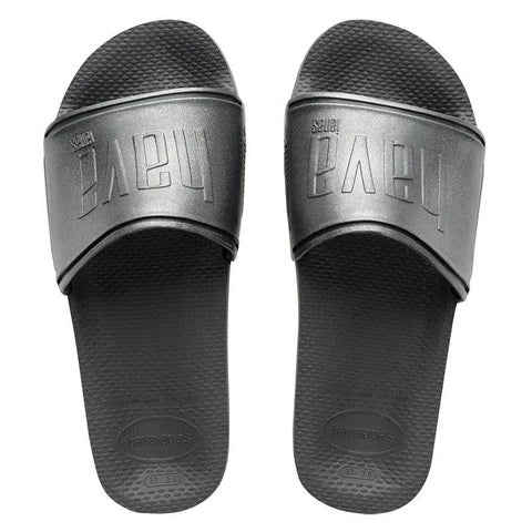 Havaianas  Women's Slides in Graphite