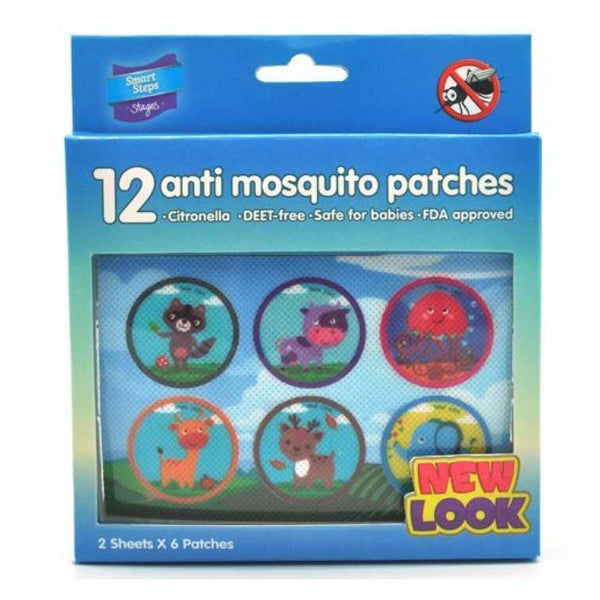 Smart Steps Anti-Mosquito Patches 12s