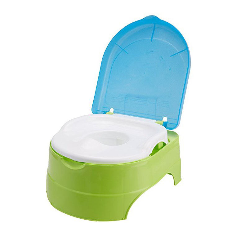 Summer Infant My Fun Potty and Step Stool  in Blue Green/Pink
