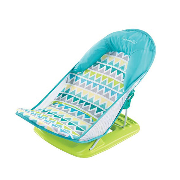 Summer Infant Deluxe Baby Bather (Triangle Stripe)