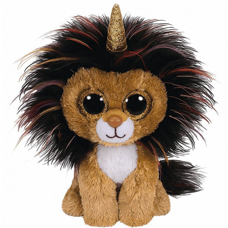 BEANIE BOO REGULAR RAMSAY LION WITH HORN
