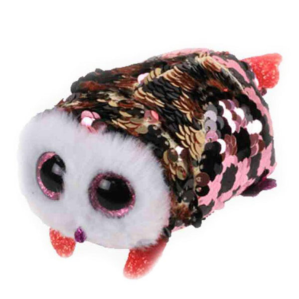 Ty Beanie Babies Teeny Tys - Checks the Owl