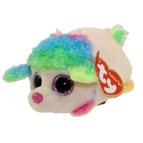Ty Beanie Babies Teeny Tys - Floral The Rainbow Poodle