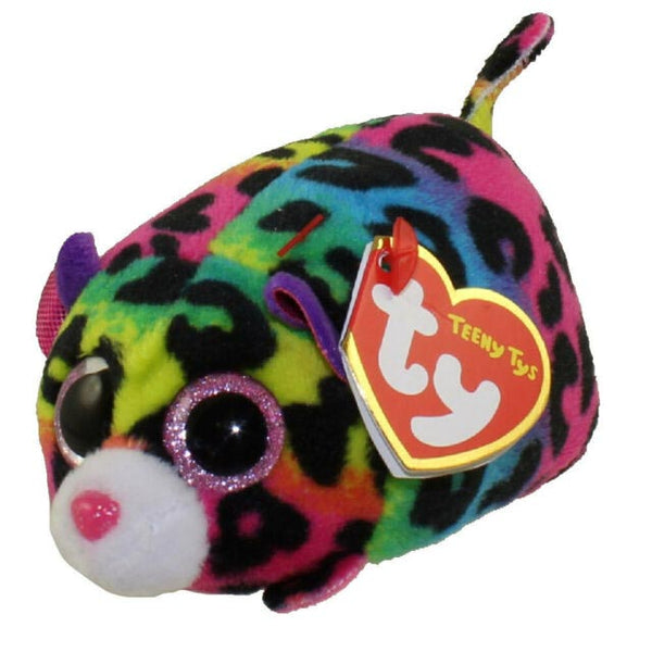 Ty Beanie Babies Teeny Tys - Jelly The Multi-Colored Leopard