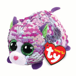 Ty Beanie Babies Teeny Tys - Lilac the Purple Cat