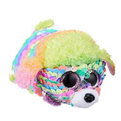 Ty Beanie Babies Teeny Tys - Rainbow the Poodle