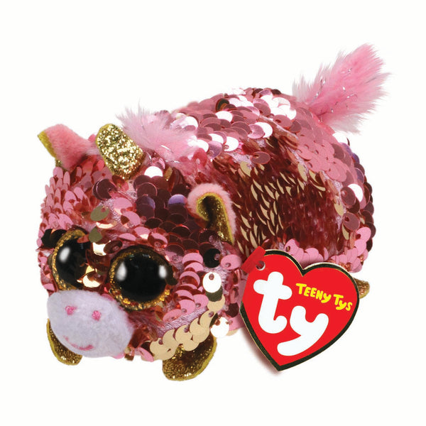 Ty Beanie Babies Teeny Tys - Sunset the Coral Unicorn
