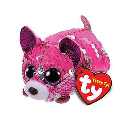 Ty Beanie Babies Teeny Tys - Yappy the Pink Chihuahua