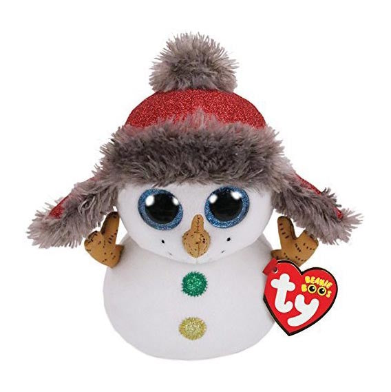 Ty Beanie Boos - Buttons The Snowman