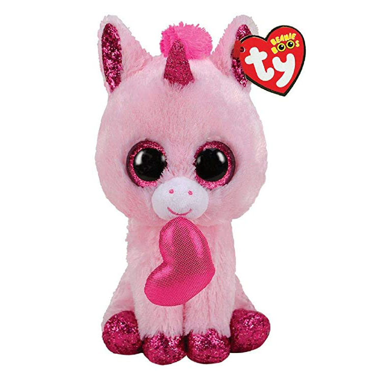Ty Beanie Boos - Darling the Valentine Unicorn
