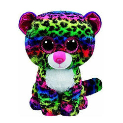 Ty Beanie Boos - Dotty the Multicolor Leopard